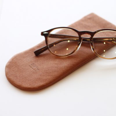 LEATHER SOFT GLASSES CASE