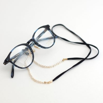 fresh water pearl velvet glasses cord