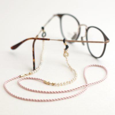 fresh water pearl silk glasses cord