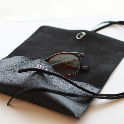 SHRINK LEATHER SOFT GLASSES CASE