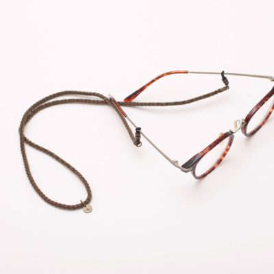 EYFE / Braid Artificial Leather Glasses Cord