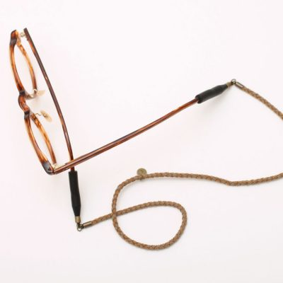 EYFE / Braid Artificial Leather Glasses Socks Cord