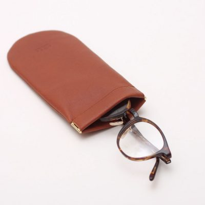 EYFE / Soft Leather Glasses Case